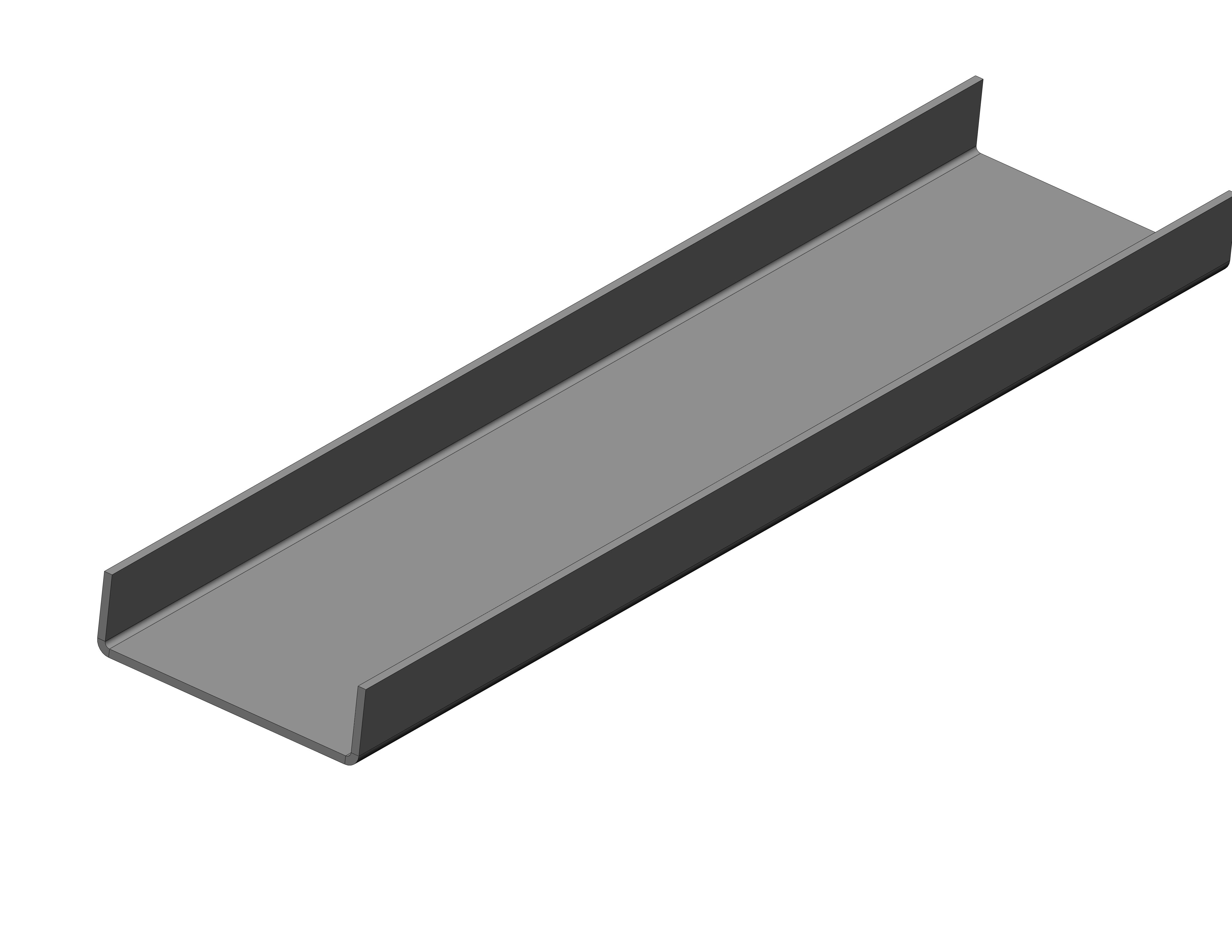 CHAPA LONGITUDINAL - (3560 X 915)